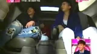 eng sub nichkhun cute hidden cam tv girl punch 2009 01 08