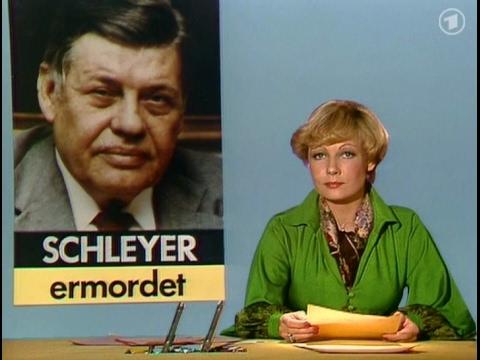 Tagesschau-Sondersendung vom 19. Oktober 1977