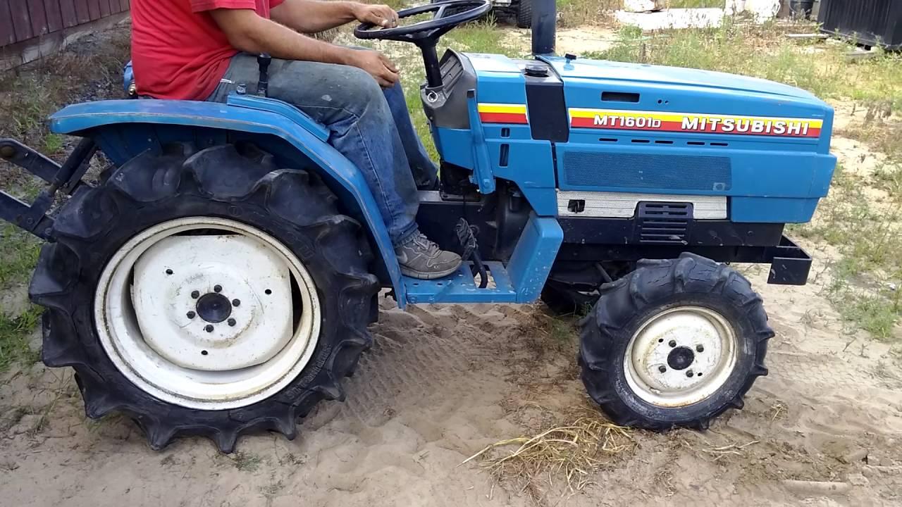 Mitsubishi Compact Tractors : Mitsubishi mt d compact utility tractor youtube