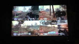 MW2 Four Way Split Screen Comedy