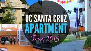 UC Santa Cruz Apartment Tour | rosylindatv