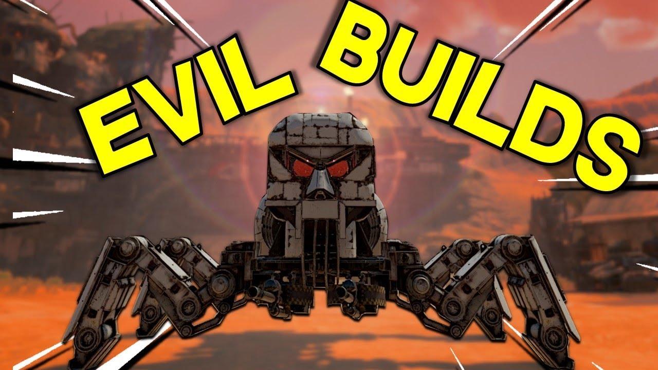 Evil Builds -- Crossout