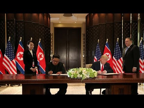 From 'rocket man' to 'talented': Trump forms 'special bond' with Kim