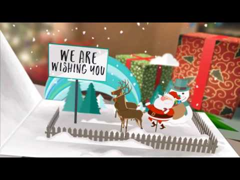After Effects Template Christmas Card