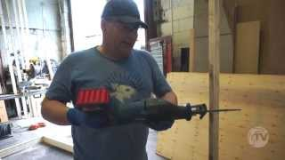 Bosch GSA18V-LI 18V li-ion Cordless Reciprocating Saw - a Toolstop REVIEW