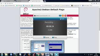 Tutorial install web server di debian 8