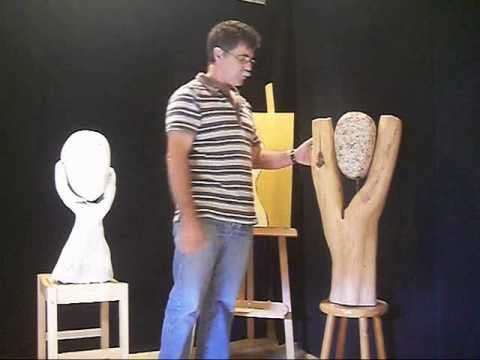 les tapes de la cr ation d 39 une sculpture d 39 art youtube. Black Bedroom Furniture Sets. Home Design Ideas