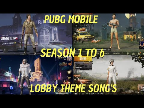All Pubg Mobile Theme Song From Season 1-6