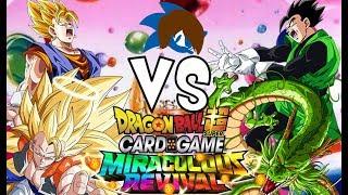Secret Rare Gogeta Is Broken As F*ck! Vegito With Gogeta VS Gohan/Shenron! DBSCG Miraculous Revival!