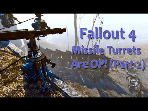 how to build defense turret fallout 4
