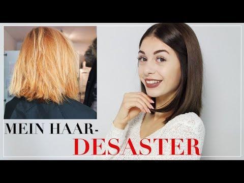 Haare in braun farben