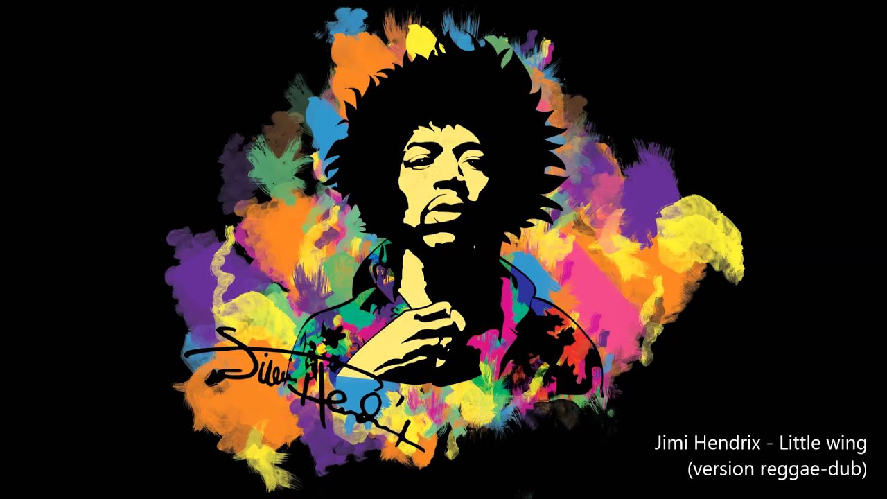 Trippy Wallpapers Hd Iphone Jimi Hendrix Little Wing Version Reggae Dub Youtube