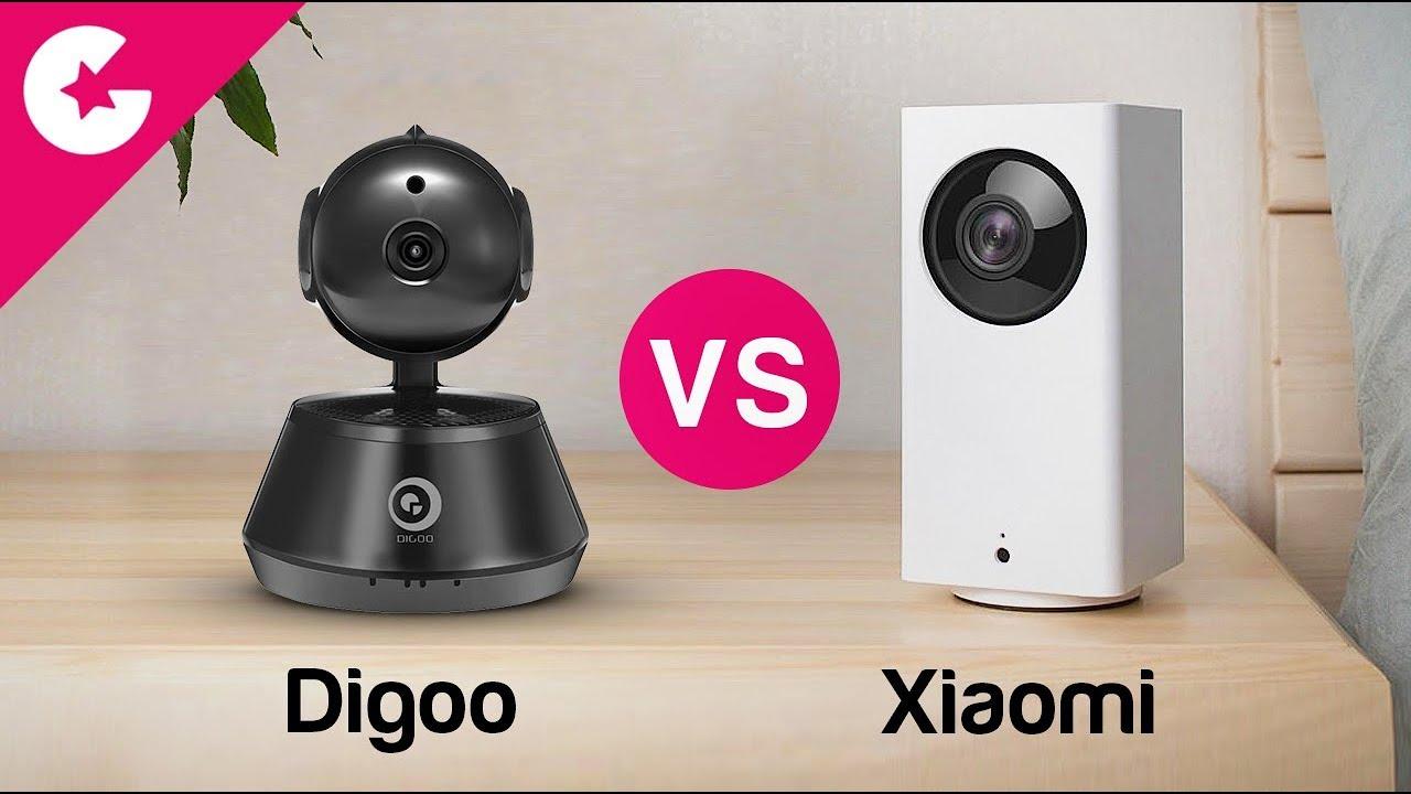 Xiaomi Mijia Dafang VS Digoo DG-M1Z Shark - Best Affordable Security Wifi  Camera