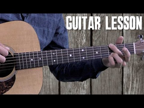 Bluegrass Rhythm Guitar - Beginner Guitar Lesson - Foggy Mountain Rock - Strumming and Walk-Ups