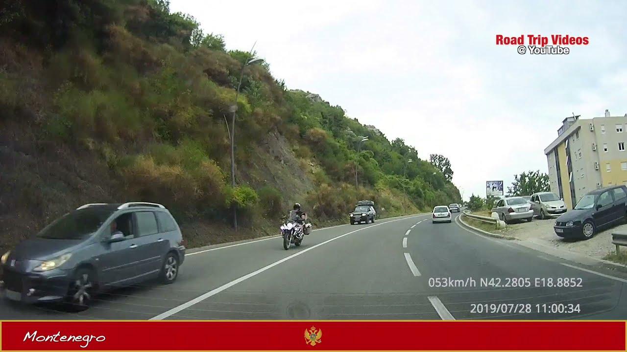 driving from Budva (Montenegro) to Sjenica (Serbia) over Bare