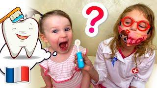 Cinq Enfants Comptine Bébé Chez le Dentiste Comptines Pour Bébé