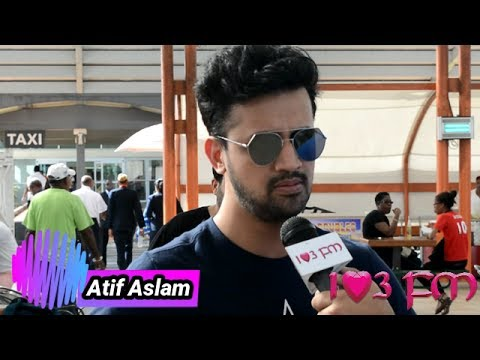 Atif Aslam Interview at Piarco!