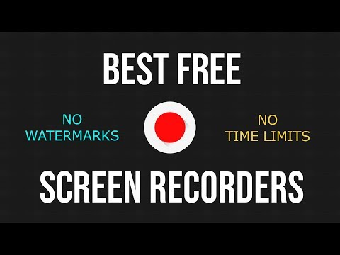 Best Free Screen Recording Software 2017