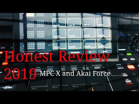 Honest Review Mpc X vs Akai Force
