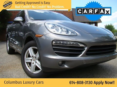 2011 Porsche Cayenne Awd 4dr S Columbus Luxury Cars Dealership In Columbus