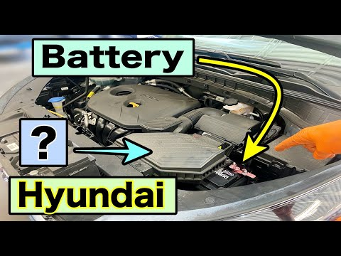 How To | Replace Car Battery | 2016-2021 Hyundai Tucson |
