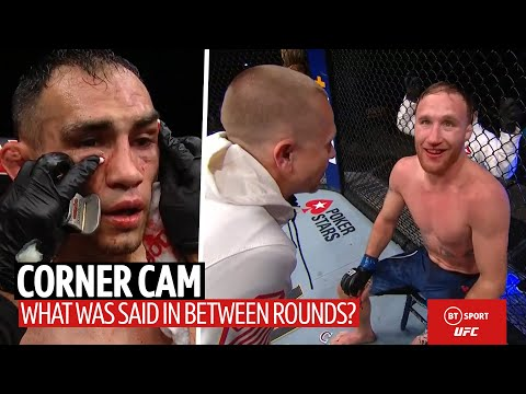 Corner Cam: What Ferguson And Gaethje's Coaches Said To The Fighters Between Rounds