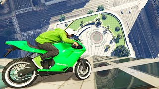 DRIVING DOWN BUILDINGS (GTA 5 Funny Moments)
