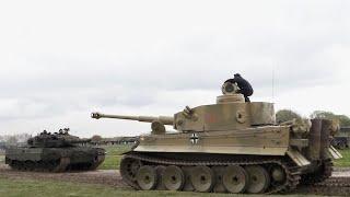 Tiger 1 Tank meets Leopard 1 and Leopard 2 - Tiger Day IX, Tank Museum, Bovington