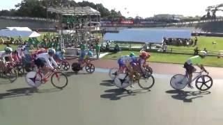 自転車競技 岩手国体 成年男子ポイントレース予選1組