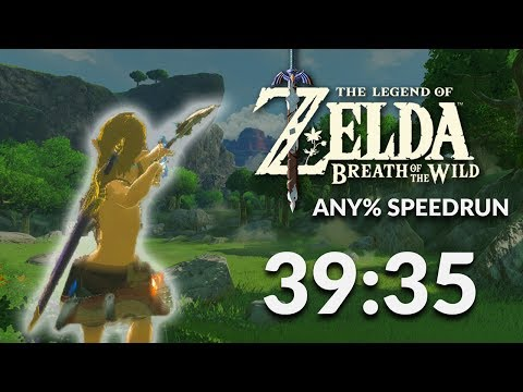 Breath of the Wild any% Speedrun in 39:35 by Orcastraw