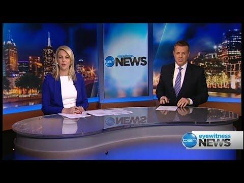 Ten Eyewitness News Melbourne - Brad McEwan's First ...