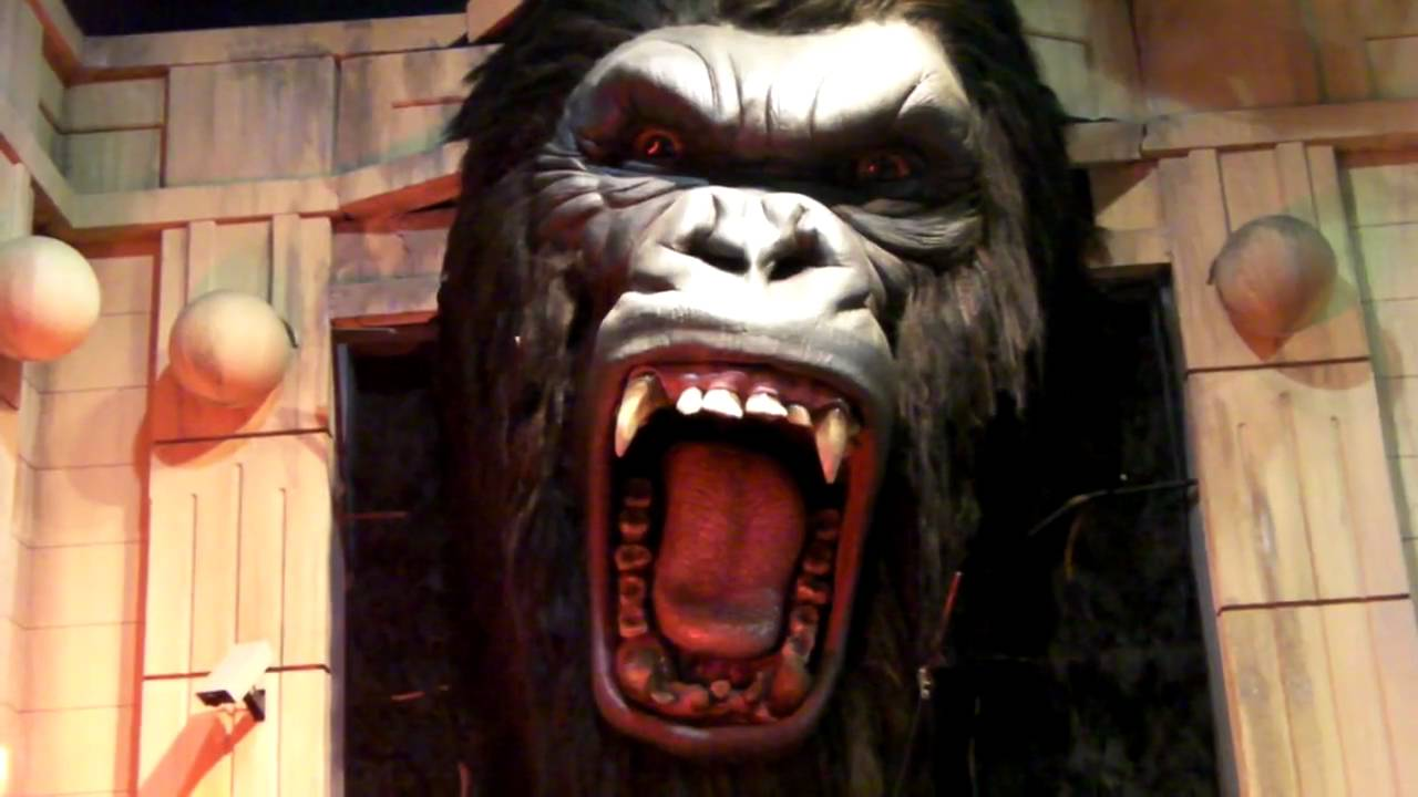 King Kong...@ the Hollywood Wax Museum! - YouTube
