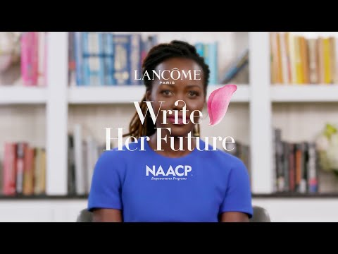 Lancôme Announces Write Her Future Scholarship Fund At NAACP In...