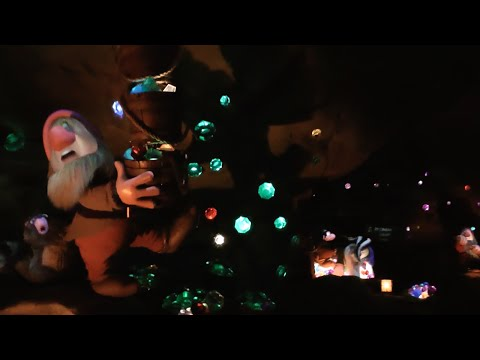 Seven Dwarfs Mine Train 2015 POV (Nighttime), Magic Kingdom, Walt Disney World