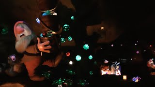 Seven Dwarfs Mine Train 2015 POV (Nighttime), Magic Kingdom, Walt Disney World