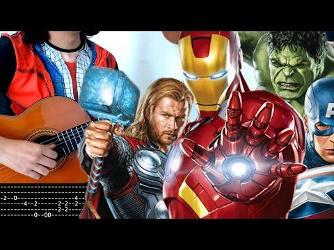 easy-avengers-guitar-theme-tab