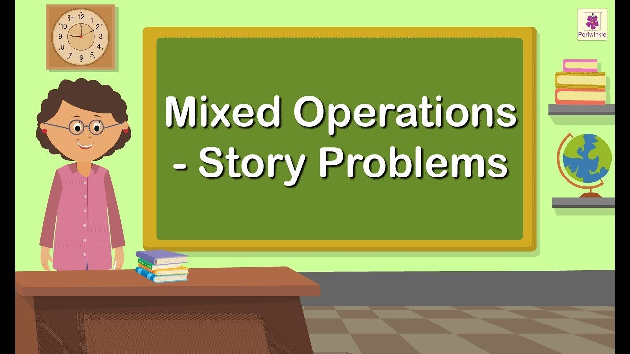 hight resolution of Mixed Operations - Addition