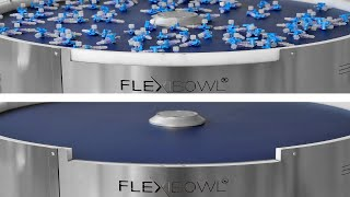 FlexiBowl® Quick Emptying - Medical Plastic Parts Feeding Solution