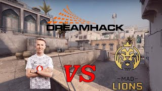 Ropz POV (mouz) vs MAD Lions - 27-15 - dust2 - ICE Challenge 2020