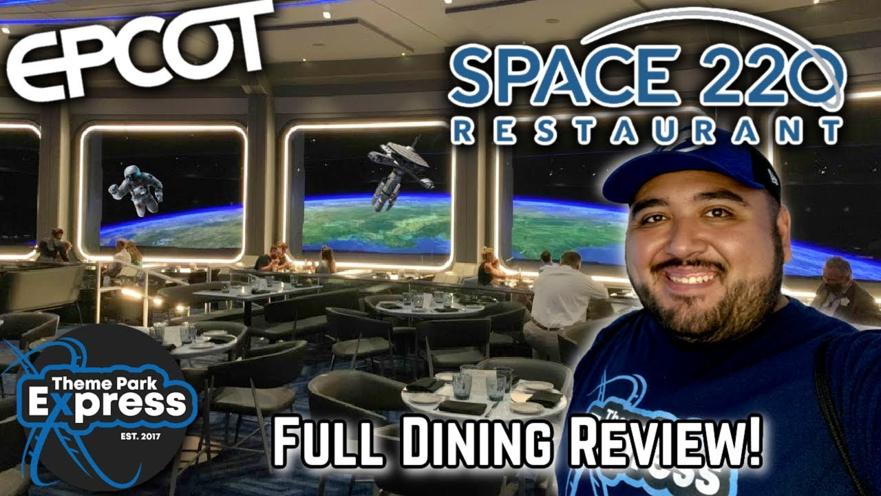 Is Space 220 Worth The Money?! Space 220 Honest Dining Review! Space 220 Epcot Review!