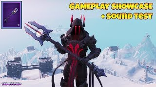 "*NEW* ""ICE SCEPTER"" PICKAXE GAMEPLAY Showcase + SOUND TEST with ""ICE KING"" SKIN 