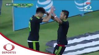 Gol de  Marco Fabián | México 2 - 1 Nueva Zelanda | Televisa Deportes