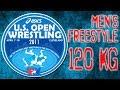 Tervel Dlagnev vs. Steve Mocco Men's Freestyle 120Kg - 2011 ASICS Wrestling U.S. Open