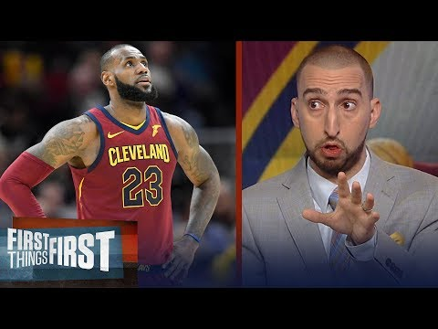 Nick Wright lists his keys for LeBron's Cavs in Gm3 vs the Boston Celtics | NBA | FIRST THINGS FIRST
