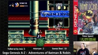 Sega Genesis A Z : Adventures Of Batman & Robin  (journey To Beat Every Sega Genesis Game) Day 1.1
