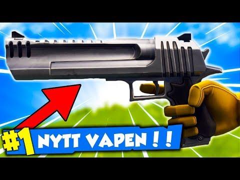 SPELAR MED *Sniper-Pistol* 🔥 I Fortnite (SEASON 3)