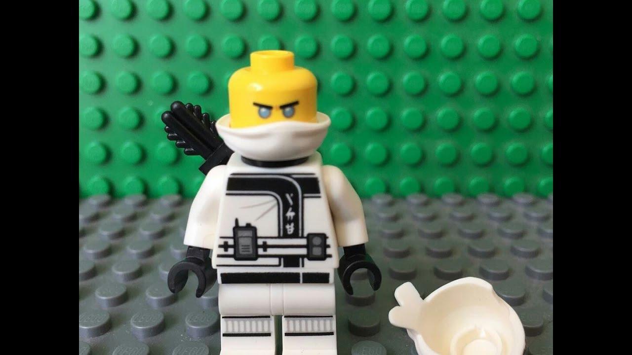 DETAIL IMAGES OF THE LEGO NINJAGO MOVIE ZANE MINIFIGURE ...