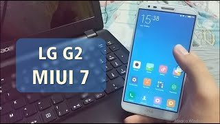 (BR/PT) Review Rom MIUI 7 - LG G2