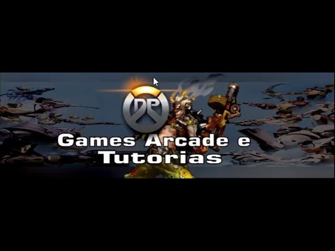 CorelDrawemfe Banner para Canal DP Games Arcade e Tutorias feito por Emfe Game Player