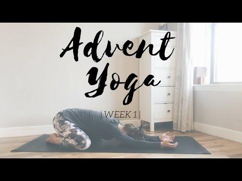 Christian Yoga for Advent: Pt. 1